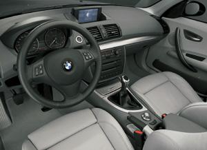 Essais auto interieur et ext rieur bmw serie 1 auto for Interieur bmw serie 1